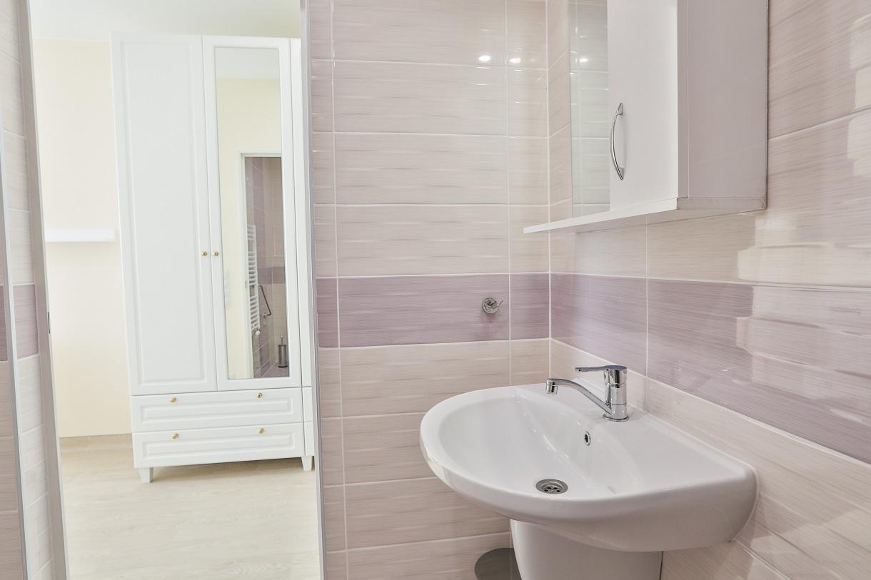 Badezimmerhaus für ältere Menschen