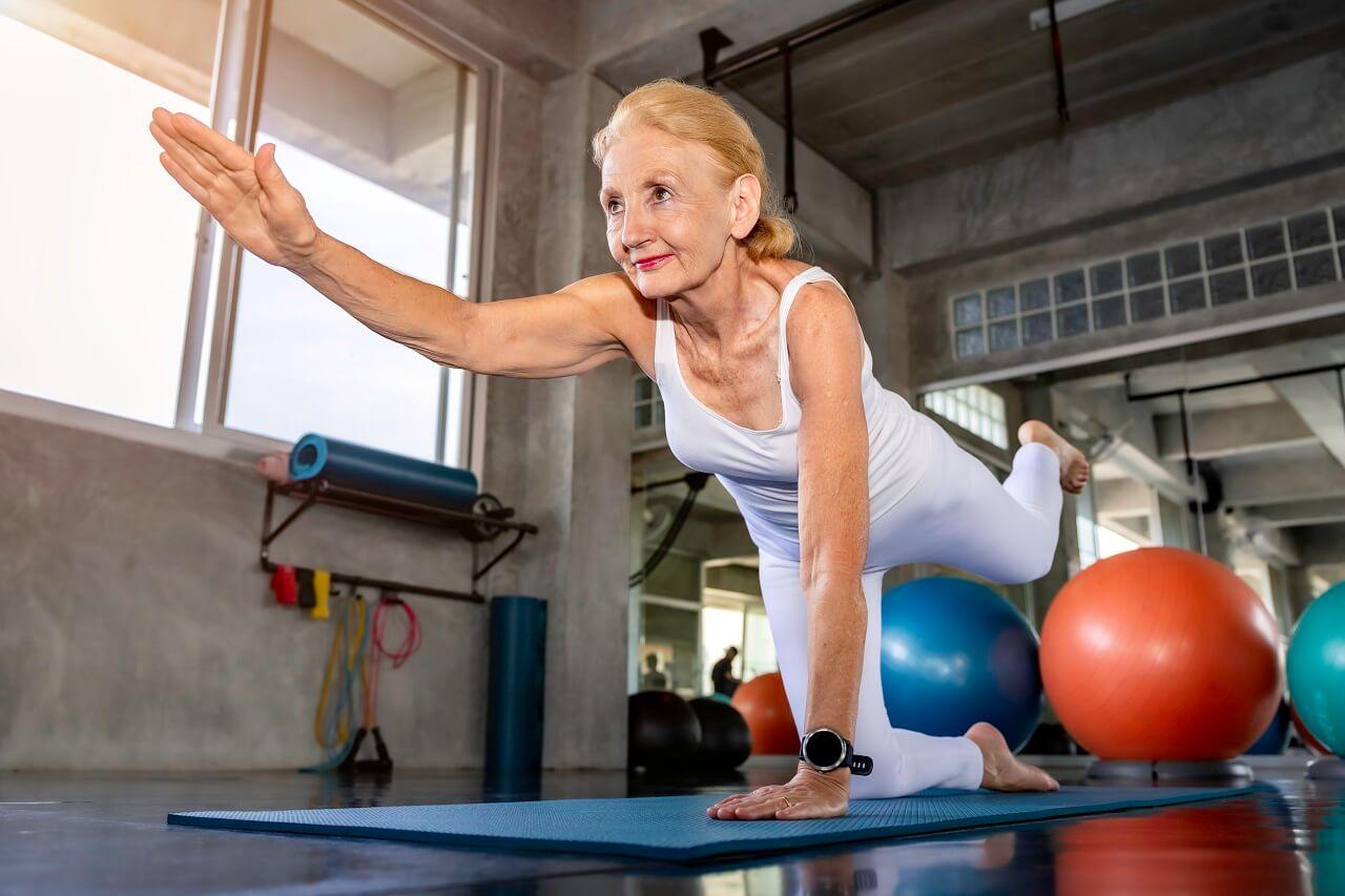 Гимнастика за възрастни хора